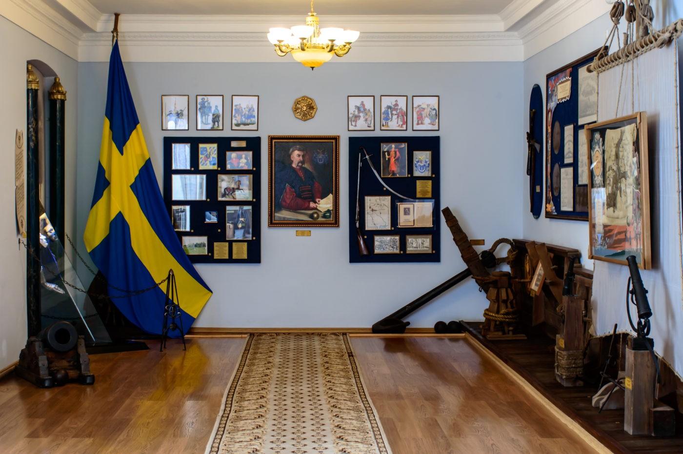 Один із залів Музею Полтавської битви