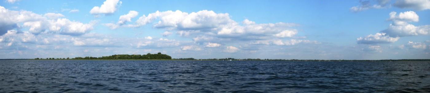 Велика панорама озера Світязь. Фото Безобчук