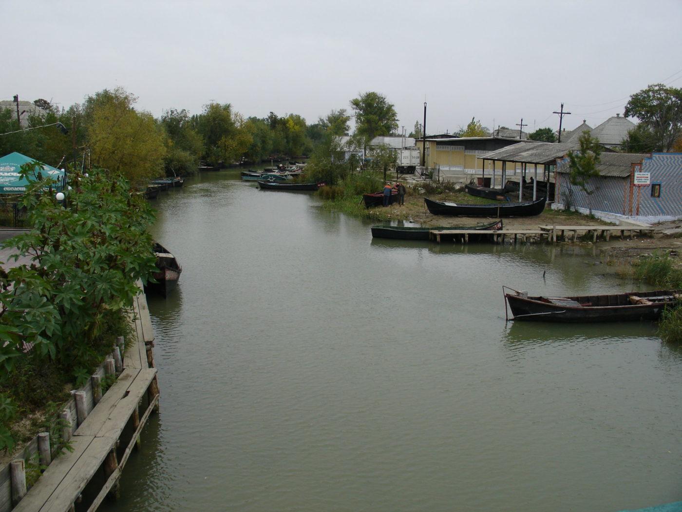 Одна з головних «вулиць» міста Вилкове