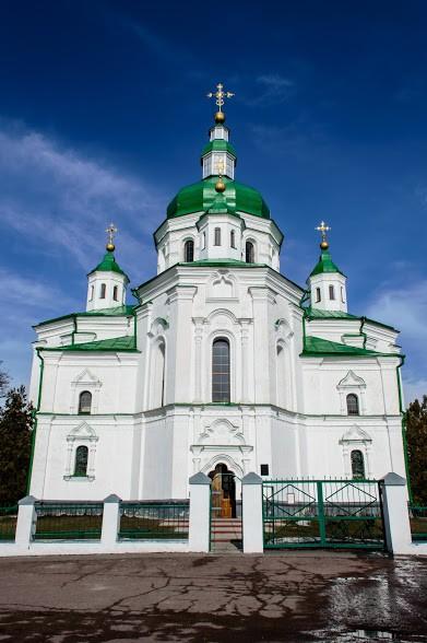 Свято-Преображенський собор. Великі Сорочинці
