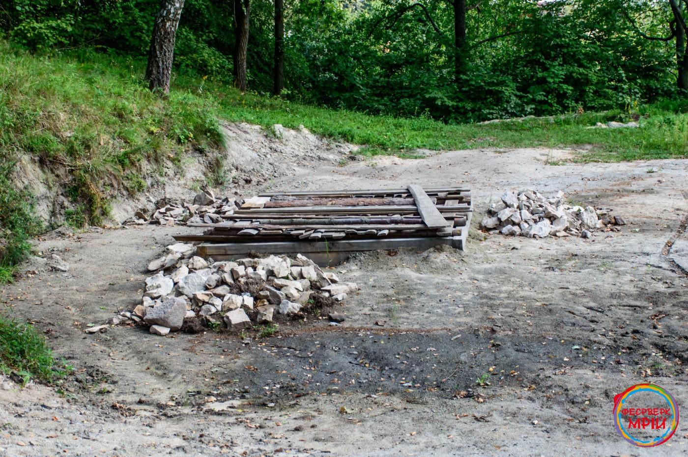 Розкопки в городищі Бабина Гора