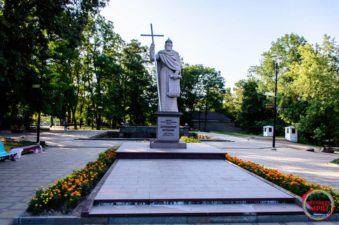 Пам'ятник Володимиру Великому в Коростені