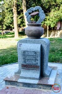 Пам'ятник деруну в Коростені