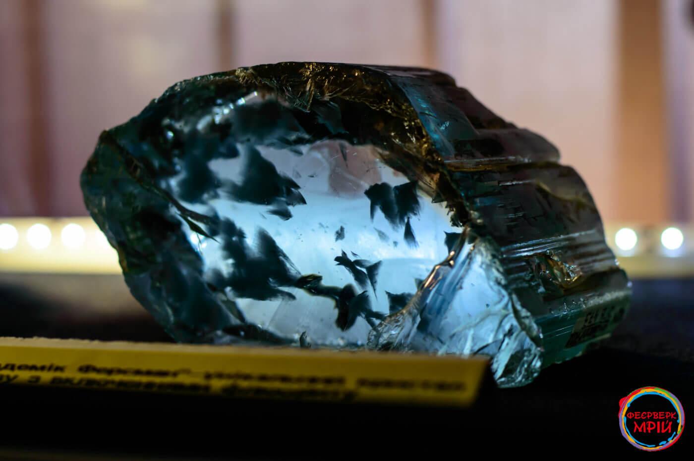 Експонат музею коштовного і декоративного каміння