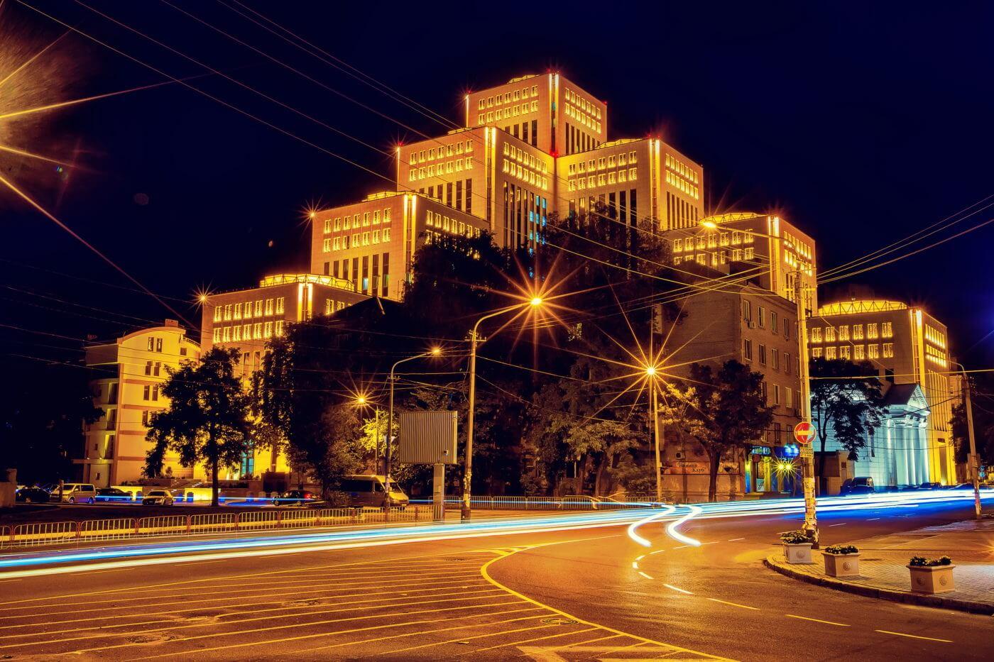 """Культурно-діловий центр """"Менора"""". Фото з сайту http://menorah-center.com"""